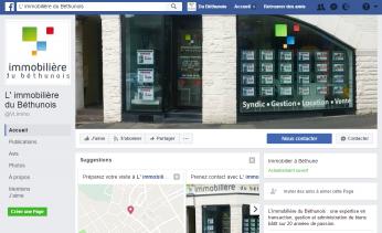 La nouvelle Fan Page Facebook de l'agence est en ligne ! Rejoignez-nous